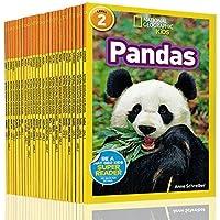 英文原版 National Geographic Readers Kids level 2 人文动物 25册合售 美国国家地理分级阅读读物全彩版儿童百科书