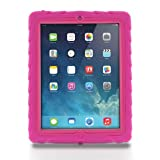 Apple iPad 2 iPad 3 iPad 4 Drop Tech Pink Gumdrop Cases Silicone Rugged Shock Absorbing Protective Dual Layer Cover Case