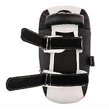 Generic Curved Arm Leg Pad UFC MMA Muay Kick Boxing Strike Focus Punch Shield Foot Target