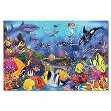 Melissa & Doug Underwater Ocean Floor Puzzle (48 pcs, 0.6 x 0.9 meters)