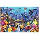 Melissa & Doug 10427 Underwater Ocean Floor Puzzle (48 pcs, 0.6 x 0.9 meters) - Multi-colour