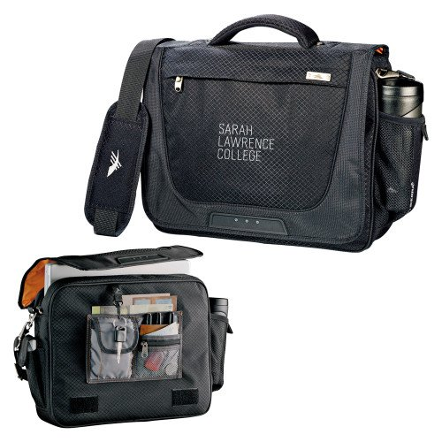 Sarah Lawrence High Sierra Black Upload Business Compu Case 'Primary Mark' by CollegeFanGear