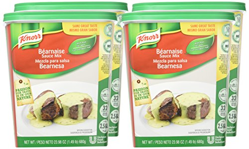 Amazon.com : Knorr Sauce Mix Bearnaise 1.49 pound 4 count : Grocery & Gourmet Food