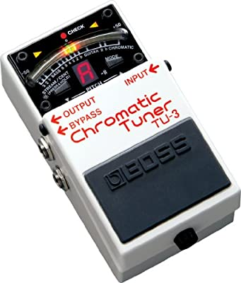 Boss TU3 Chromatic Tuner Pedal by BOSS AUDIO