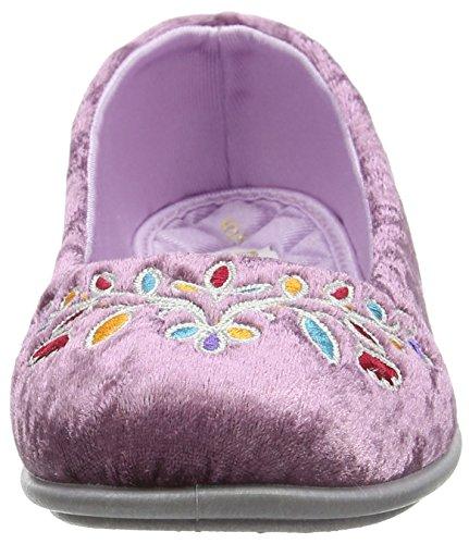 Freestep Ara, Zapatillas de Estar por Casa para Mujer Rosa - Pink (Heather 533)