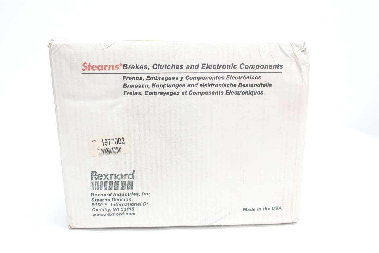 Amazon.com: REXNORD 106536105DQB Stearns Brake Motor Assembly REV E 15LB-FT 460V-AC: Industrial & Scientific