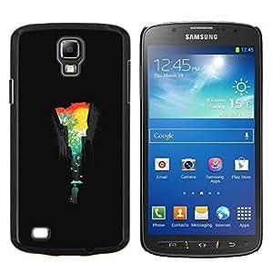LECELL--Funda protectora / Cubierta / Piel For Samsung Galaxy S4 Active i9295 -- Ciudad Colores --