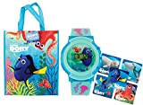 Disney ''Finding Dory'' LED Flashing Lights Digital Watch With Themed Motifs! Plus Bonus Finding Dory Gift Bag & Character Stickers!
