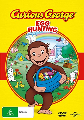 Curious George Egg Hunting | NON-USA Format | PAL | Region 4 & 2 Import - Australia