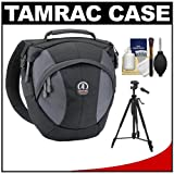 Tamrac 5767 Velocity 7x Pro Photo Digital SLR Camera Sling Bag (Black) with Tripod + Accessory Kit for Canon EOS 70D, 6D, 5D Mark III, Rebel T3, T5i, SL1, Nikon D3100, D3200, D5200, D7100, D600, D800, Sony Alpha A65, A77, A99, Best Gadgets