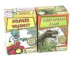 Grow Your Own Seeds Jurassic Dinosaur Fern- Zombie Brains Flowers - 2 Pack Set