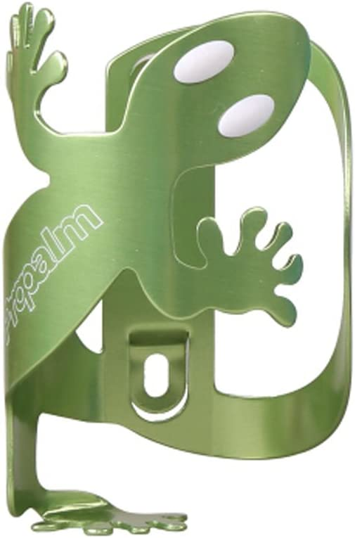 PANDA SUPERSTORE Creative Aluminium Alloy Mountain Bike Water Bottle Cage Bottle Holder GREEN