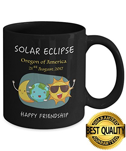 Best Quality  Total Eclipse Mug  Oregon  Great American Eclipse August 21 2017 11 Ounes Sized  By Stormcool