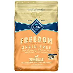 Blue Buffalo Freedom Grain Free Natural Puppy Large Breed Dry Dog Food, Chicken 24-lb 88