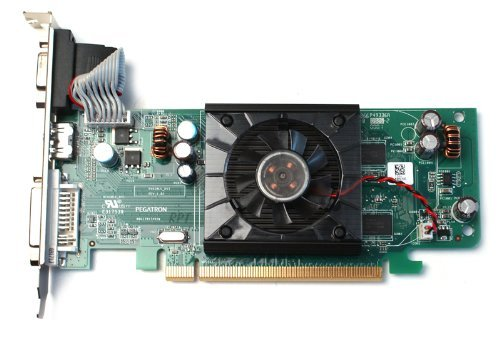Dell F342F ATI Radeon HD3450 256MB PCI-X Graphics Card HDMI, DVI, VGA Outputs For Computer Systems with Standard PCI-Express x16 Slot 256mb Dvi Video Cards