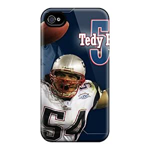 New Arrival NXcnb4562ZpwFT Premium Iphone 4/4s Case(tedy Bruschi New England Patroits Player)