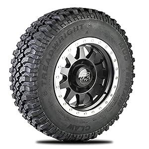 TreadWright CLAW M/T Tire - Remold USA - LT265/70R17E Premiere Tread Wear (40,000 miles)