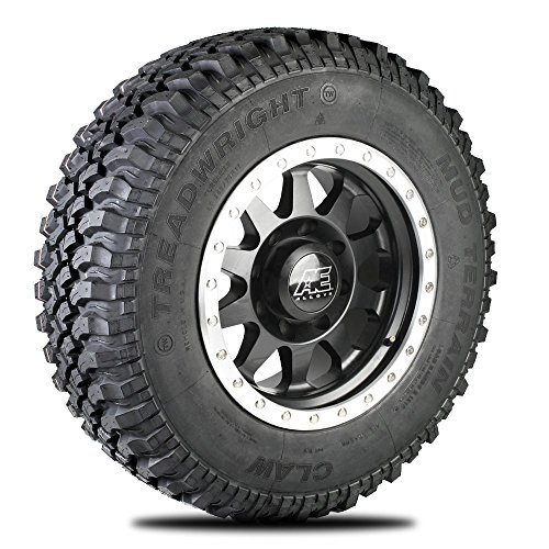 TreadWright CLAW M/T Tire - Remold USA - LT265/70R17E Premier Tread Wear...