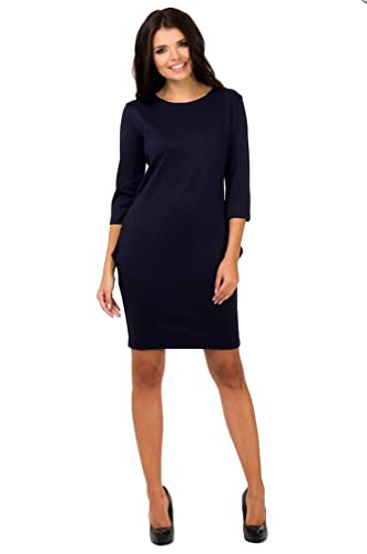 Berry Women's Jersey Shift Dress With Pockets