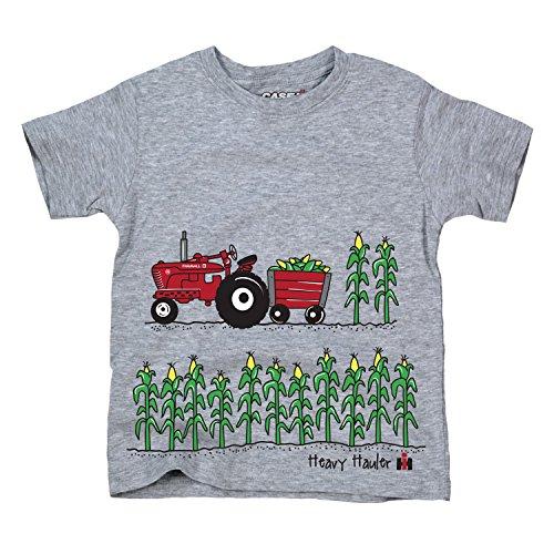 Heavy Haulin Farmall IH Red Tractor Rural International Harvester Youth T-Shirt