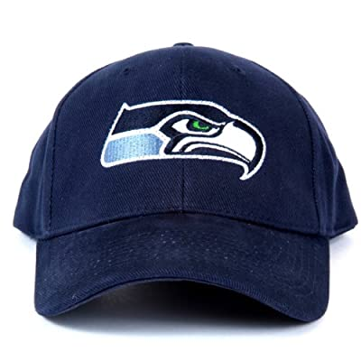 NFL Seattle Seahawks LED Light-Up Logo Adjustable Hat by Lightwear
