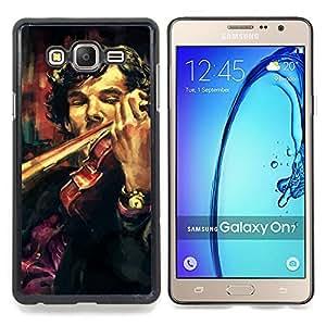 SKCASE Center / Funda Carcasa protectora - Holmes violín Pintura;;;;;;;; - Samsung Galaxy On7 O7