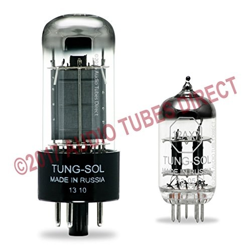 Tung-Sol Tube Upgrade Kit For Fender Vibro Champ XD Amps 6V6GT 12AX7 Champ Xd Guitar Amplifier