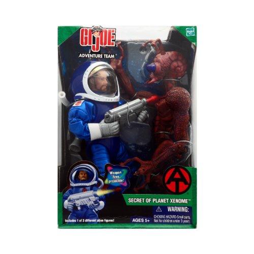 Secret of Planet Xenome GI Joe Adventure Team with Reddish Brown Alien