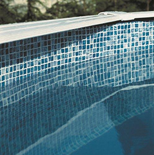 Gre FPR458 - Liner para Piscinas Redondas, Diámetro de 460 cm, Altura de 132 cm, Color Azul: Amazon.es: Jardín