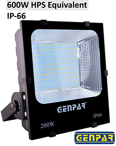 200W New LED Flood Security Lights Outdoor Work Light 600...
