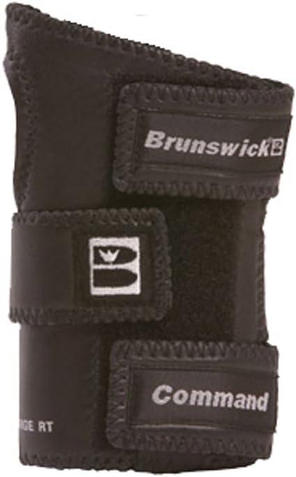 Brunswick Command Positioner Black Leather, Left Hand, Large