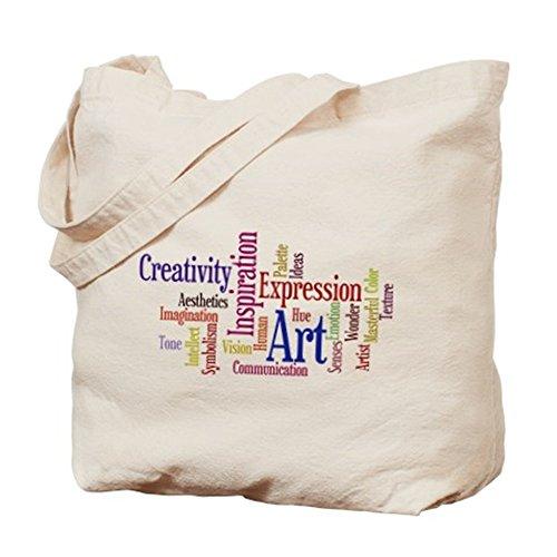 CafePress–Artista ispirazione creativa–Borsa di tela naturale, panno borsa per la spesa