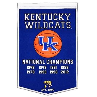 Kentucky Wildcats 24''x36'' Dynasty Wool Banner