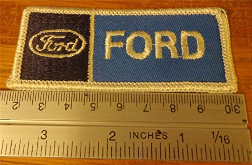 FORD Emblem Logo Embroidered Hat Jacket Iron on Patch Automotive Badge ()