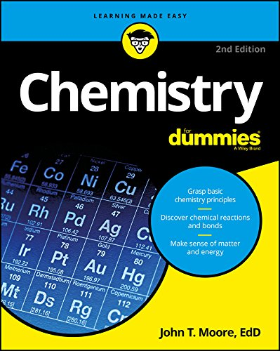 Chemistry For Dummies (For Dummies (Math & Science)) cover