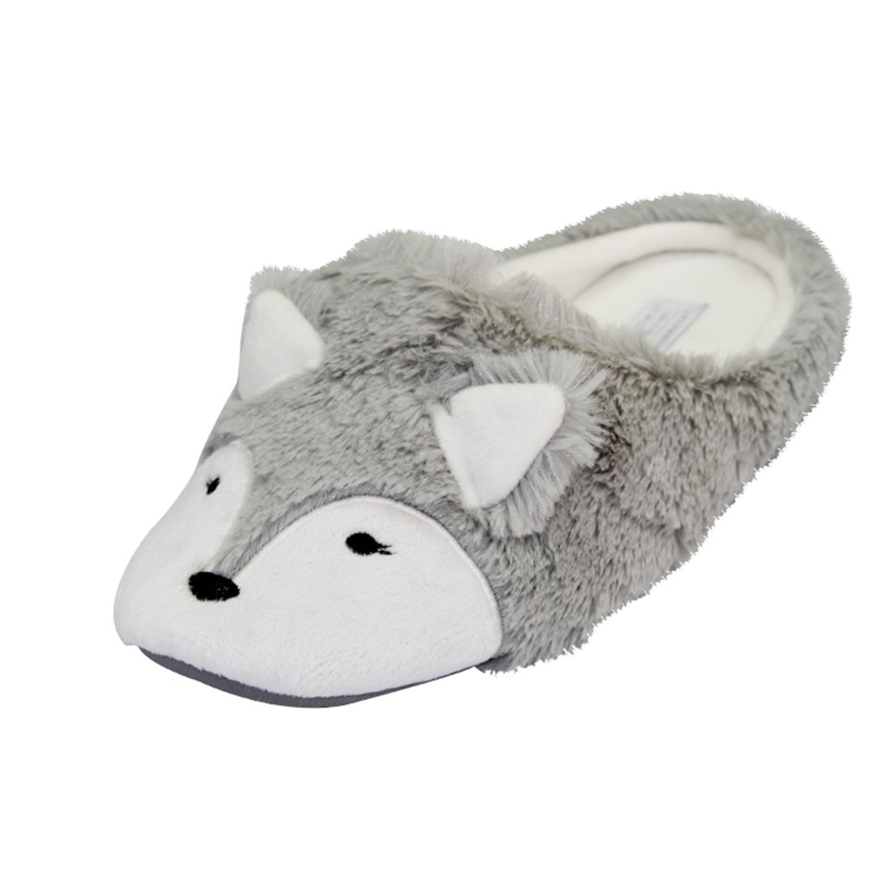 Pasoataques Womens Cute Fox Animal Pattern Home Slippers