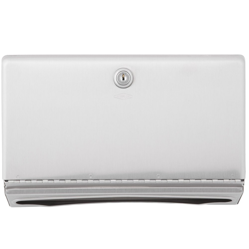 Bobrick 26212 Surface-Mounted Paper Towel Dispenser Stainless Steel 10 3/4 x 4 x 7 1/16