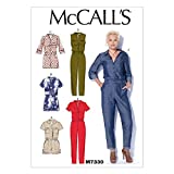 McCall's Patterns M7330 Misses' Button-UP Utility