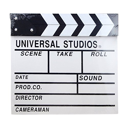 Costume Director For Movies - Director Clapboard, Yamix Wooden Director Film Movie Clapper Board Slate Cut Action Scene Board 12.2