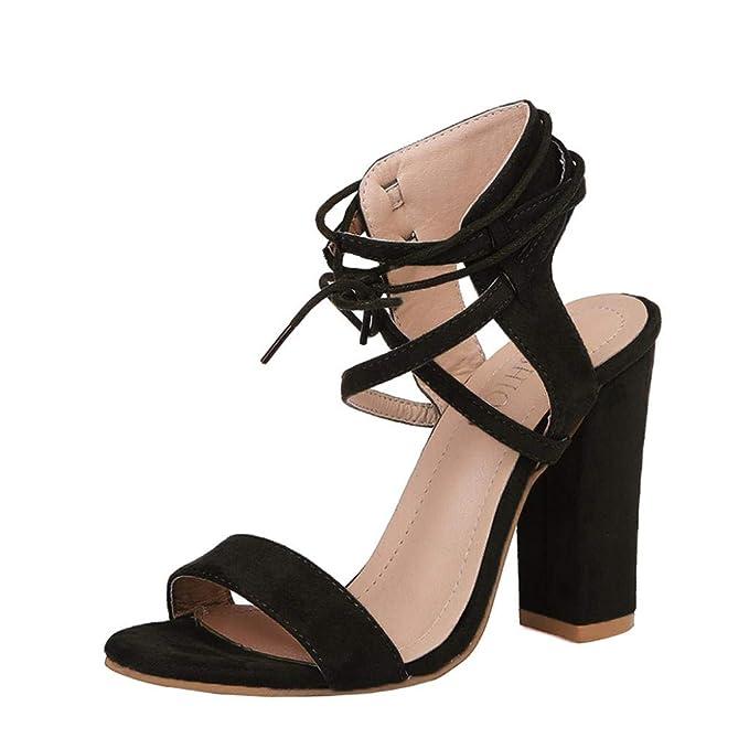Damen Needra Plattform Sandaletten Sandalen S Block Heel amp;h High NOm0vy8nw
