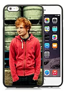 Customized Portfolio Ed Sheeran 1 Black iPhone 6 Plus 5.5 Inch TPU Protective Phone Case