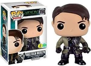 Funko - Figurine Arrow TV - Malcolm Merlin Exclu Pop 10cm - 0849803094843