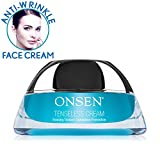Onsen Secret Facial Wrinkle Tenseless Cream Recommended by Dermatologists Professional Grade & High Performance Made in USA 1.7oz (50 ml) …