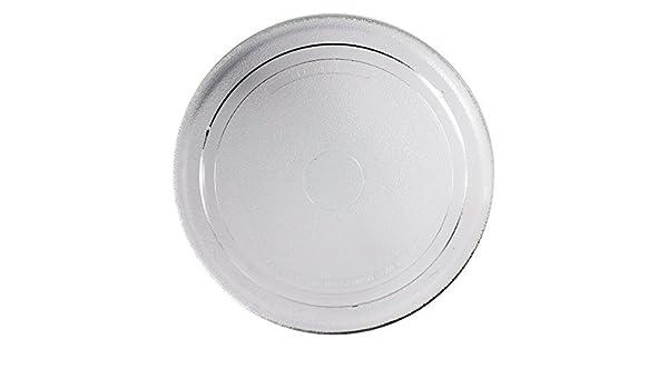 Spares2go vidrio liso de la placa giratoria de la placa para horno ...