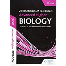 Advanced Higher Biology 2018-19 SQA Past Papers with Answers