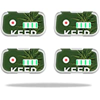 Skin For DJI Phantom 3 Drone Battery (4 pack) – Smoke Weed   MightySkins Protective, Durable, and Unique Vinyl Decal wrap cover   Easy To Apply, Remove, and Change Styles   Made in the USA