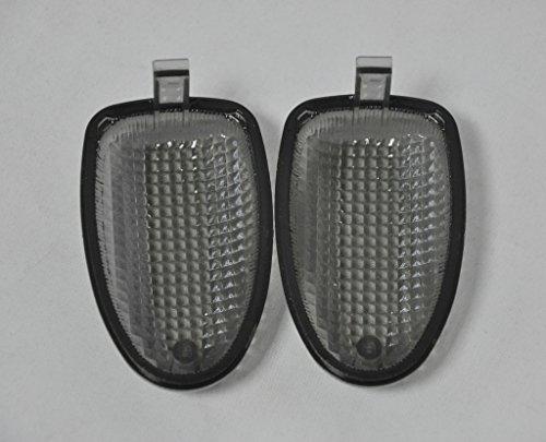 Rear 97-04 K1200Rs Topzone Fum/é Moto lentille de clignotant Pour Bmw R1100R R850R R1150Gs R1150R R1150Gs R1200C R1100S