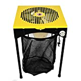 Origin Fleet 18-Inch Bud Leaf and Plant Flower Automatic Trimmer Reaper Hydroponics Machine with 3-Speeds, 6 Replacement Sharp Steel Cutting Blades and Bag