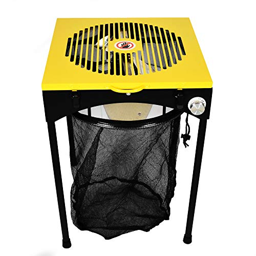 Origin Fleet 18-Inch Bud Leaf and Plant Flower Automatic Trimmer Reaper Hydroponics Machine with 3-Speeds, 6 Replacement Sharp Steel Cutting Blades and Bag ()