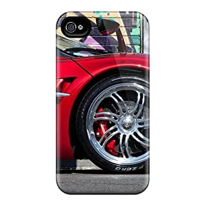 Tpu Case For Iphone 4/4s With OEuchkV7852XsYjd AngelineMS Design